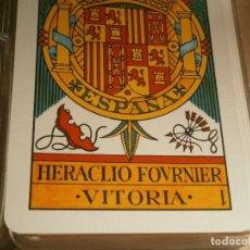 Barajas de cartas: IMPORTANTE BARAJA DE LA CASA ,,FOURNIER ,,BUEN ESTADO,,SEMI NUEVA,AÑOS 70,APROSIMADO,,VICTORIA¡¡. Lote 221106431