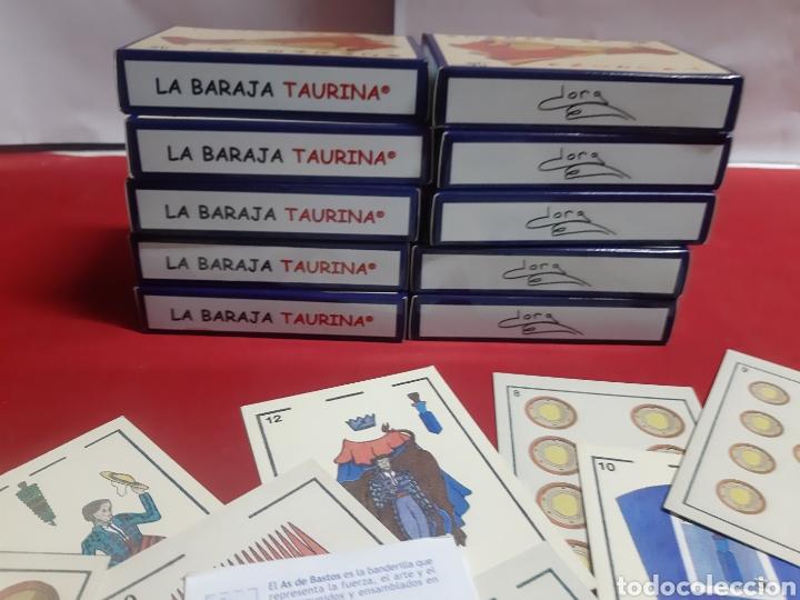 Barajas de cartas: La baraja taurina lote de 10 Barajas nuevas sin estrenar precintadas diseño Dora año 1999 - Foto 4 - 221155783
