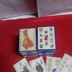 Barajas de cartas: LA BARAJA TAURINA LOTE DE 10 BARAJAS NUEVAS SIN ESTRENAR PRECINTADAS DISEÑO DORA AÑO 1999. Lote 221155783