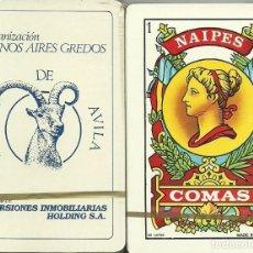 Barajas de cartas: BARCO DE AVILA - BARAJA ESPAÑOLA 40 CARTAS. Lote 221274005