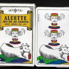 Barajas de cartas: ALUETTE. Lote 221341158