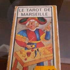 Barajas de cartas: LE TAROT DE MARSELLE 1983. Lote 221394227