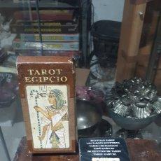 Barajas de cartas: BARAJA TAROT EGIPCIO LP SCARABEO COMPLETA BARAJA PRECINTEADA LEER DESCRIPCION. Lote 221494411