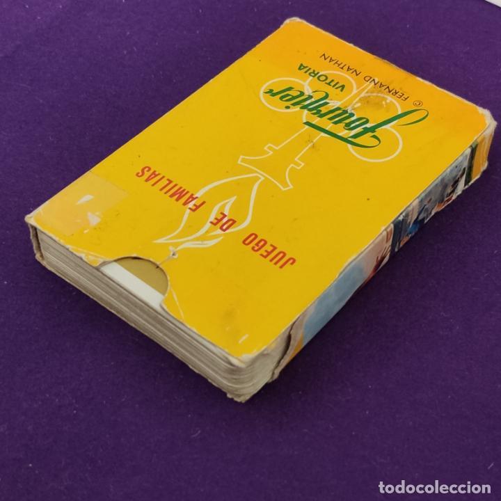 Barajas de cartas: BARAJA INFANTIL FOURNIER. LOS DEPORTES. 1965. COMPLETA. - Foto 3 - 221563571