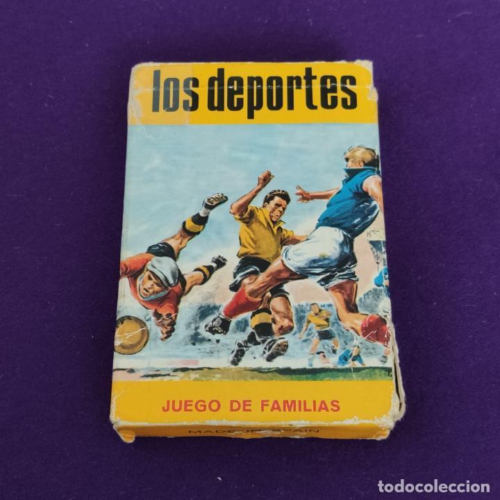 BARAJA INFANTIL FOURNIER. LOS DEPORTES. 1965. COMPLETA. (Juguetes y Juegos - Cartas y Naipes - Barajas Infantiles)