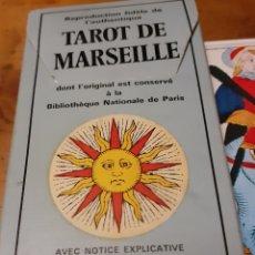Barajas de cartas: TAROT DE MARSELLA. Lote 221605430