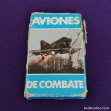 Jeux de cartes: BARAJA INFANTIL FOURNIER. AVIONES DE COMBATE. 1984. COMPLETA.. Lote 221617931