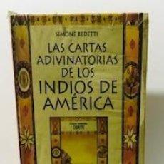 Barajas de cartas: TAROT COLECCIÓN INDIOS DE AMÉRICA (ADIVINATORIAS) (SET - LIBRO + CARTAS) NUEVAS A ESTRENAR. Lote 221626193