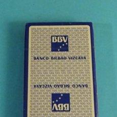 Barajas de cartas: BARAJA PRECINTADA NAIPE ESPAÑOL HERACLIO FOURNIER PUBLICIDAD BANCO BILBAO VIZCAYA BBV. Lote 221864935
