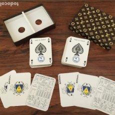 Baralhos de cartas: BARAJA CARTAS LOUIS VUITTON ORIGINAL HERON NAIPES. Lote 221866310