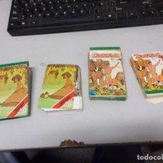 Barajas de cartas: LOTE DOS BARAJAS CARTAS INFANTILES EL LIBRO DE LA SELVA Y TARZAN FOURNIER. Lote 221882826