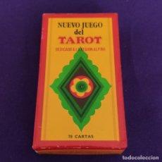 Barajas de cartas: BARAJA TAROT FOURNIER. NUEVO JUEGO. DEDICADO A LA REGION ALPINA. SIN USAR. 1977. CAJA ORIGINAL. Lote 221920612