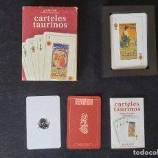 Barajas de cartas: BARAJA DE CARTAS CARTELES TAURINOS. Lote 221933230