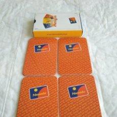 Barajas de cartas: BARAJA CARTAS TARJETA NEVADA ARGENTINA BARAJA ARGENTINA TARJETA DE CRÉDITO NEVADA, 50 CARTAS ESTILO. Lote 222009005