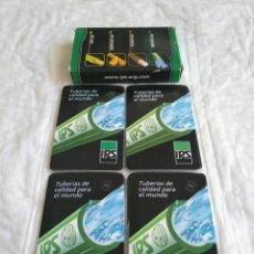 Barajas de cartas: BARAJA CARTAS IPS TUBERIAS ARGENTINA BARAJA ARGENTINA TUBERIAS IPS , TUBERÍAS DE CALIDAD. 50 CARTAS. Lote 222009316