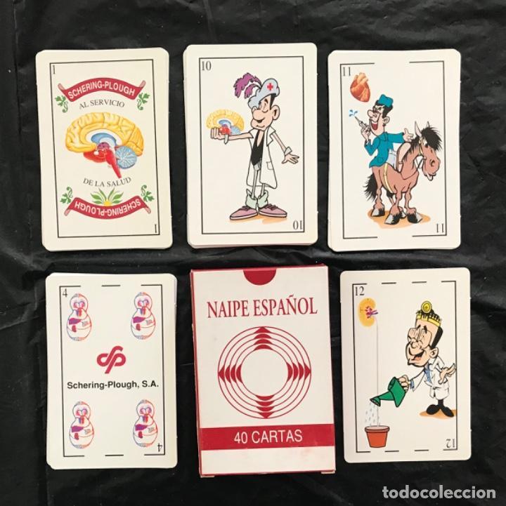 BARAJA ACCIÓN MÉDICA ESPAÑA 40 NAIPES NUEVA COMPLETA (Juguetes y Juegos - Cartas y Naipes - Baraja Española)