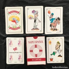 Barajas de cartas: BARAJA ACCIÓN MÉDICA ESPAÑA 40 NAIPES NUEVA COMPLETA. Lote 222025020