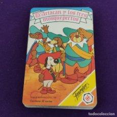 Barajas de cartas: BARAJA INFANTIL FOURNIER. D´ARTACAN Y LOS TRES MOSQUEPERROS. 1981. 32 CARTAS. COMPLETA.. Lote 222032832