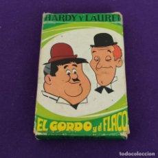 Barajas de cartas: BARAJA INFANTIL FOURNIER. EL GORDO Y EL FLACO. HARDY Y LAUREL. 1974. 32 CARTAS. COMPLETA.. Lote 222033050