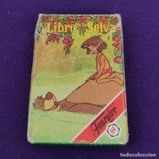 Barajas de cartas: BARAJA INFANTIL FOURNIER. EL LIBRO DE LA SELVA. 1993. 33 CARTAS. COMPLETA.. Lote 222033140
