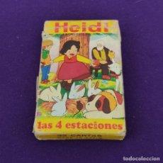 Mazzi di carte: BARAJA INFANTIL FOURNIER. HEIDI. 1975. 32 CARTAS. COMPLETA.. Lote 222033870