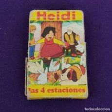 Barajas de cartas: BARAJA INFANTIL FOURNIER. HEIDI. 1975. 32 CARTAS. COMPLETA SIN INSTRUCCIONES.. Lote 222033923