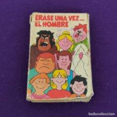Barajas de cartas: BARAJA INFANTIL FOURNIER. ERASE UNA VEZ...EL HOMBRE. 1979. COMPLETA.. Lote 222034023