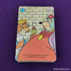 Barajas de cartas: BARAJA INFANTIL FOURNIER. ROBIN HOOD. 1974. 44 CARTAS. COMPLETA.. Lote 222034181