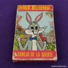 Barajas de cartas: BARAJA INFANTIL FOURNIER. BUGS BUNNY. EL CONEJO DE LA SUERTE. 1970. 33 CARTAS. COMPLETA.. Lote 222035018