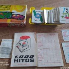 Barajas de cartas: JUEGO DE CARTAS 1000 KILÓMETROS FOURNIER. Lote 222061343