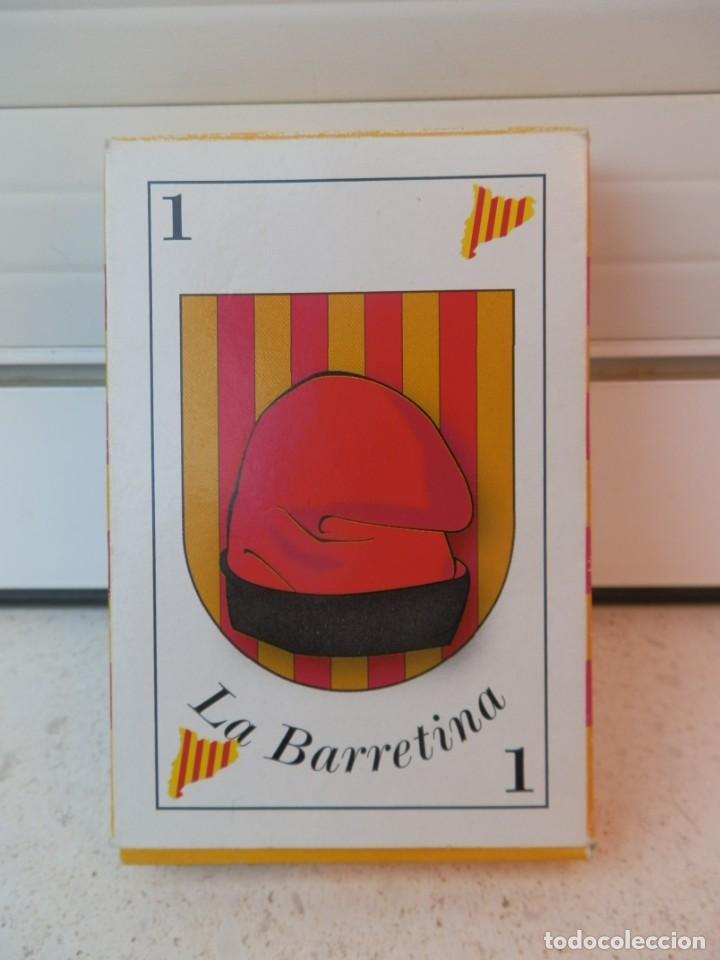 BARAJA CATALANA. LA BARRETINA. EN SU CAJETILLA. FABRICADO POR VARITEMAS, S.L. (Juguetes y Juegos - Cartas y Naipes - Otras Barajas)
