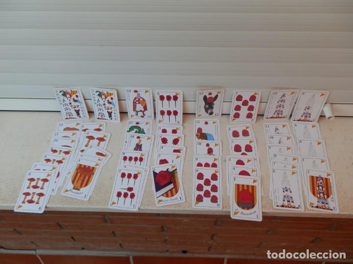 Barajas de cartas: BARAJA CATALANA. LA BARRETINA. EN SU CAJETILLA. FABRICADO POR VARITEMAS, S.L. - Foto 4 - 222064041