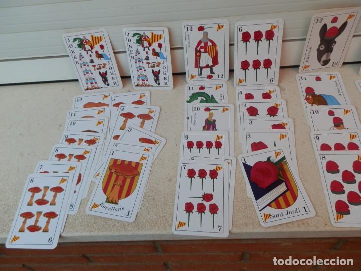 Barajas de cartas: BARAJA CATALANA. LA BARRETINA. EN SU CAJETILLA. FABRICADO POR VARITEMAS, S.L. - Foto 5 - 222064041