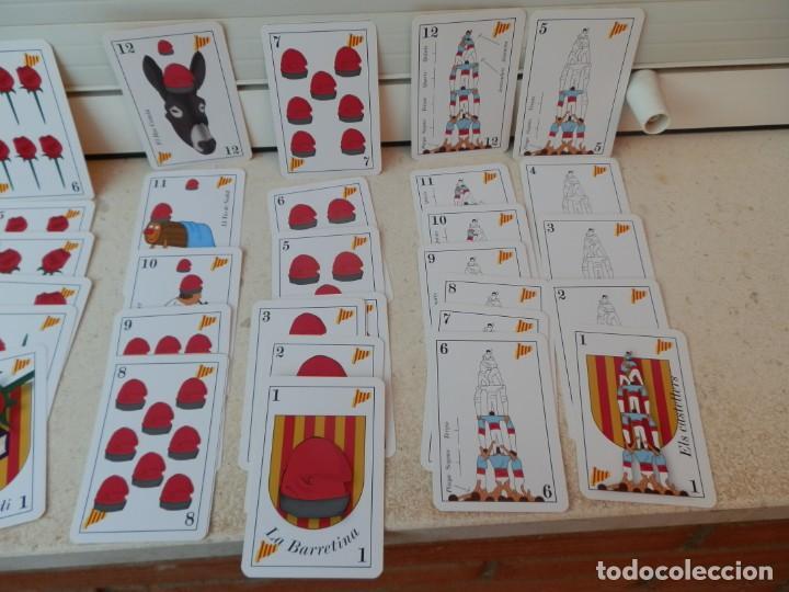 Barajas de cartas: BARAJA CATALANA. LA BARRETINA. EN SU CAJETILLA. FABRICADO POR VARITEMAS, S.L. - Foto 6 - 222064041