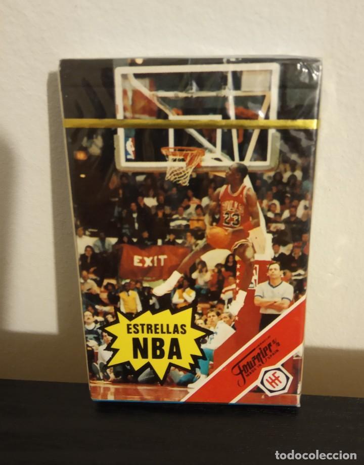 Barajas de cartas: -BARAJA HERACLIO FOURNIER CARTAS BASKET ESTRELLAS DE LA NBA 1988 . LOTE X2 BARAJAS NUEVAS SIN ABRIR - Foto 3 - 222073397