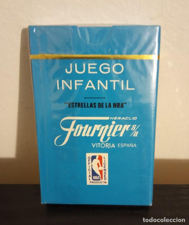 Barajas de cartas: -BARAJA HERACLIO FOURNIER CARTAS BASKET ESTRELLAS DE LA NBA 1988 . LOTE X2 BARAJAS NUEVAS SIN ABRIR - Foto 4 - 222073397