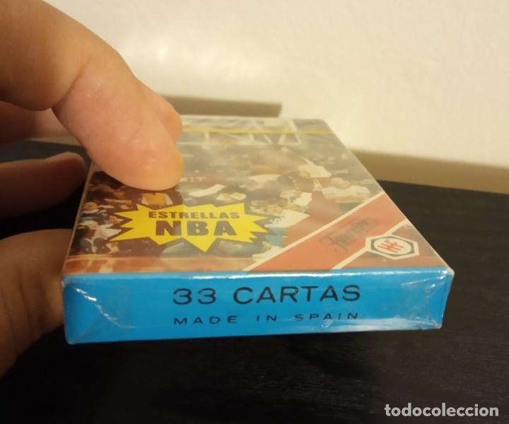 Barajas de cartas: -BARAJA HERACLIO FOURNIER CARTAS BASKET ESTRELLAS DE LA NBA 1988 . LOTE X2 BARAJAS NUEVAS SIN ABRIR - Foto 5 - 222073397
