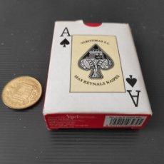 Barajas de cartas: BARAJA MINI POKER (LILIPUPT) MAS REINALS 55 CARTAS DE VARITEMAS A ESTRENAR. Lote 222076415