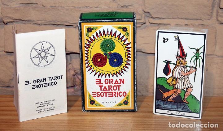 EL GRAN TAROT ESOTÉRICO. FOURNIER. 1978. MARITXU GULER / LUIS PEÑA LONGA. NUEVO Y PRECINTADO (Juguetes y Juegos - Cartas y Naipes - Barajas Tarot)