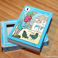 Mazzi di carte: BARAJA DE CARTES - JUEGO DE LAS 7 FAMILIAS - FRANCIA - BASS & BASS PARIS. Lote 222079125
