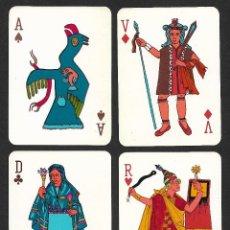 Barajas de cartas: BARAJA LOS INCAS. Lote 222079693