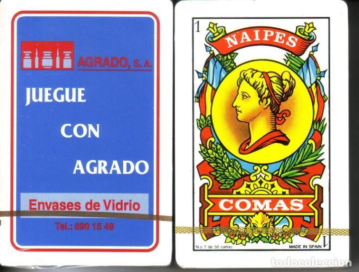 AGRADO - BARAJA ESPAÑOLA 50 CARTAS (Juguetes y Juegos - Cartas y Naipes - Baraja Española)
