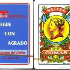 Barajas de cartas: AGRADO - BARAJA ESPAÑOLA 50 CARTAS. Lote 222097750