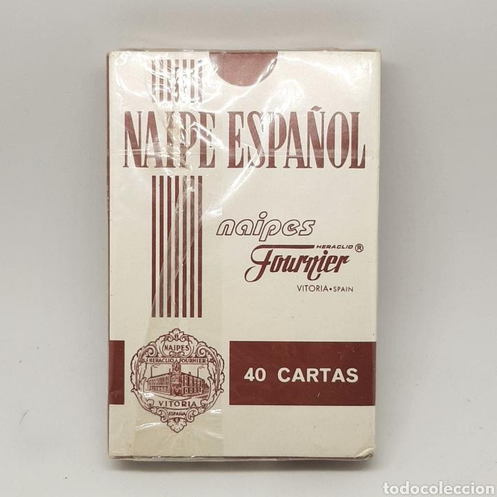 Barajas de cartas: (L.1) BARAJA NAIPE FOURNIER. FIBRA MARFIL. LO MONACO GRUPO - Foto 2 - 222101006