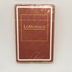 Barajas de cartas: (L.1) BARAJA NAIPE FOURNIER. FIBRA MARFIL. LO MONACO GRUPO. Lote 222101006
