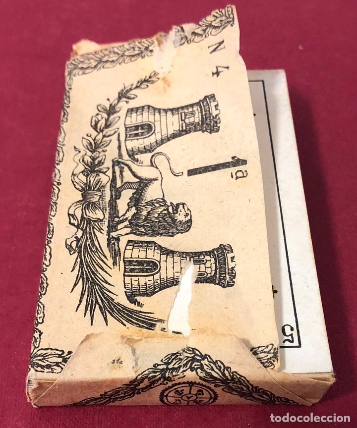 Barajas de cartas: Antigua baraja de Naipes de Pps de S.XX. Hijo de Torras y Lleo. Envoltorio original. - Foto 2 - 222109660