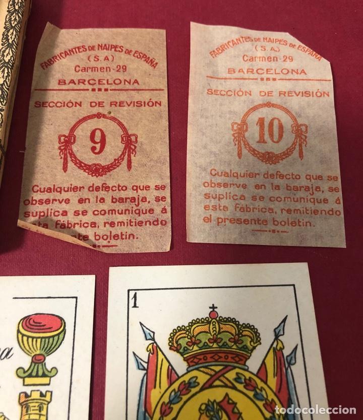 Barajas de cartas: Antigua baraja de Naipes de Pps de S.XX. Hijo de Torras y Lleo. Envoltorio original. - Foto 4 - 222109660