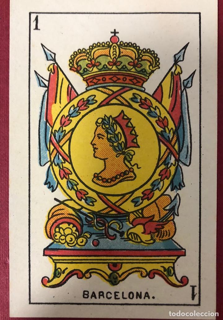 Barajas de cartas: Antigua baraja de Naipes de Pps de S.XX. Hijo de Torras y Lleo. Envoltorio original. - Foto 6 - 222109660