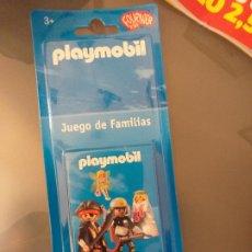 Barajas de cartas: BARAJA DE CARTAS DE PLAYMOBIL DE FOURNIER KIDS JUEGO DE FAMILIAS. Lote 222116448