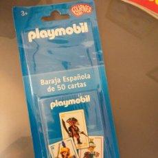 Barajas de cartas: BARAJA DE CARTAS DE PLAYMOBIL DE FOURNIER KIDS JUEGO DE 50 CARTAS. Lote 222116651